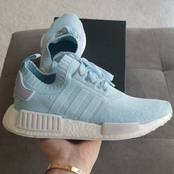 adidas nmd r1 light blue